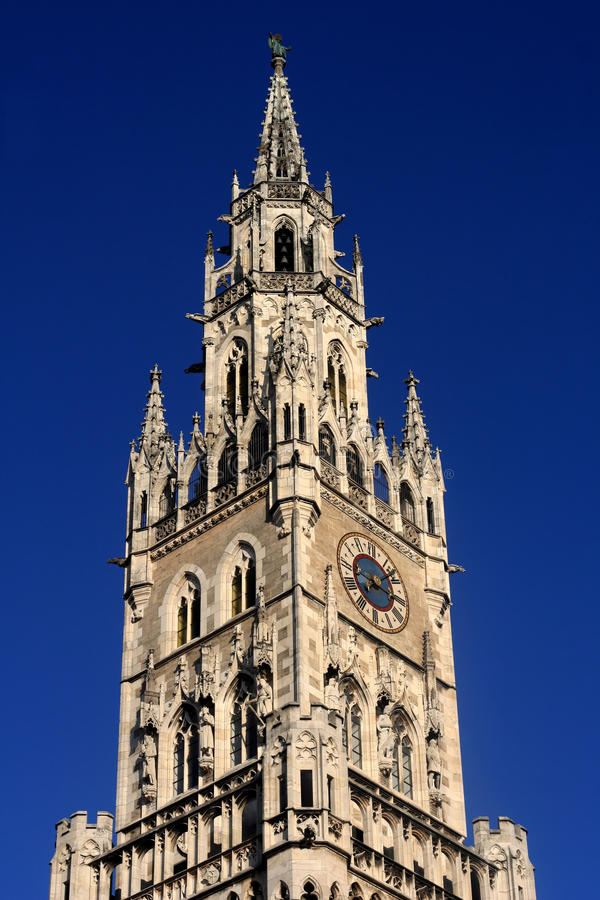 Download City Hall stock photo. Image of munich, turm, deutschland - 25312866