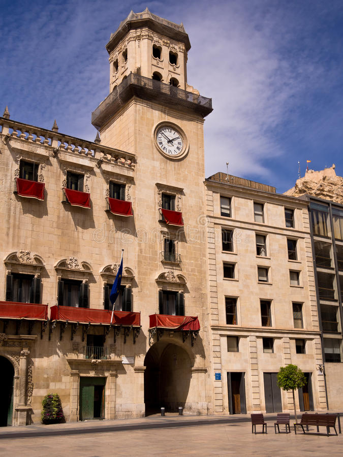 Download City Hall In Alicante, Spain Stock Image - Image of architecture, ayuntamiento: 30433283