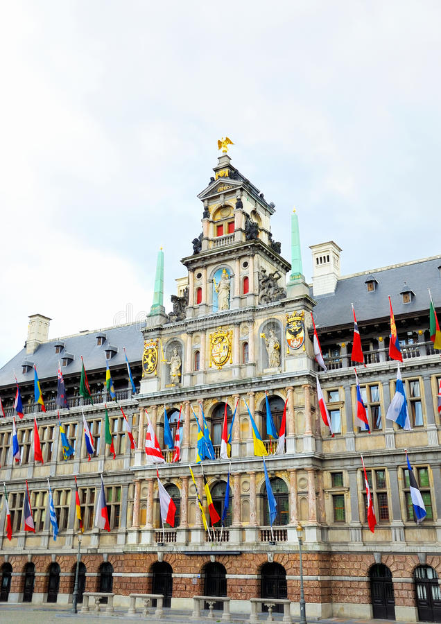 Download City Hall in Antwerp stock photo. Image of international - 26700510