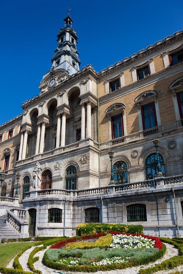 Download City hall, Bilbao stock image. Image of garden, vizcaya - 27163983