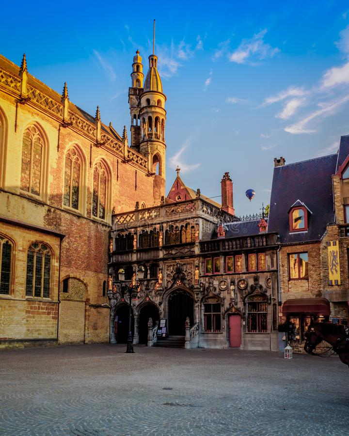 006-19 City Hall Bruges royalty free stock photo