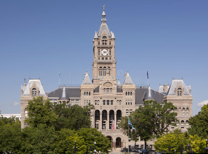Download City Hall & County Building Stock Photo - Image: 15055136