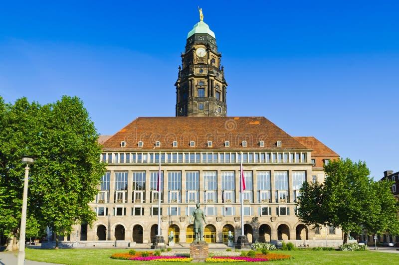 City Hall Dresden Royalty Free Stock Photos