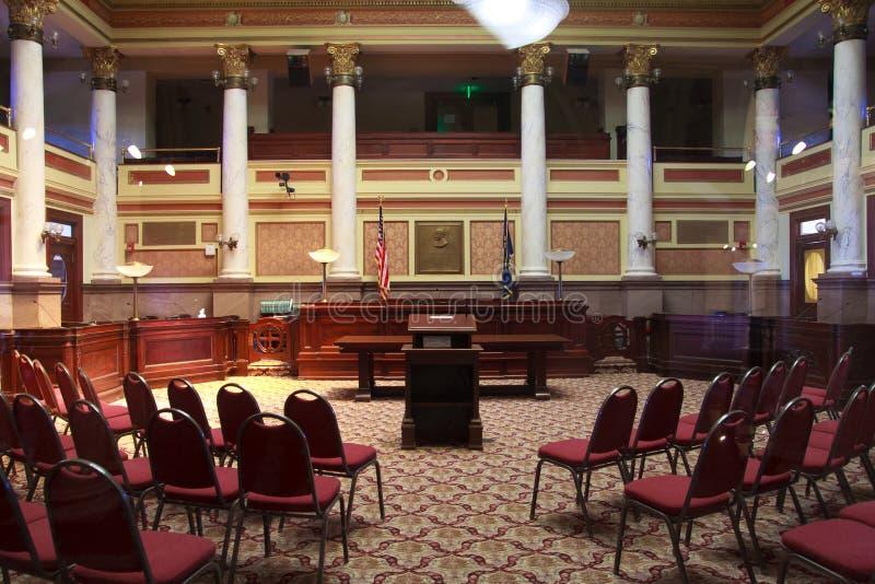 City Hall in Helena, Montana. Interior of city Hall in Helena, Montana royalty free stock photos
