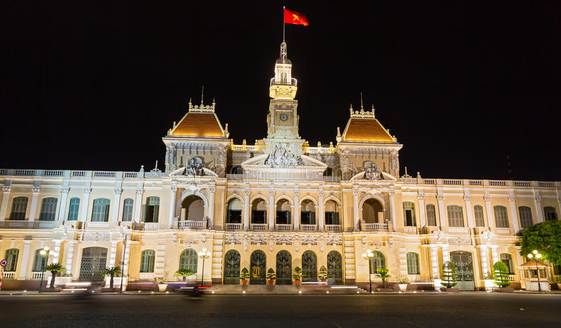 Download The City Hall Of Ho Chi Minh Stock Photo - Image: 27254996