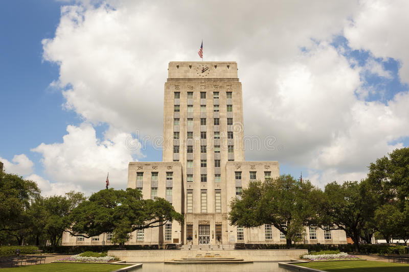 City Hall in Houston, Texas royalty free stock photos