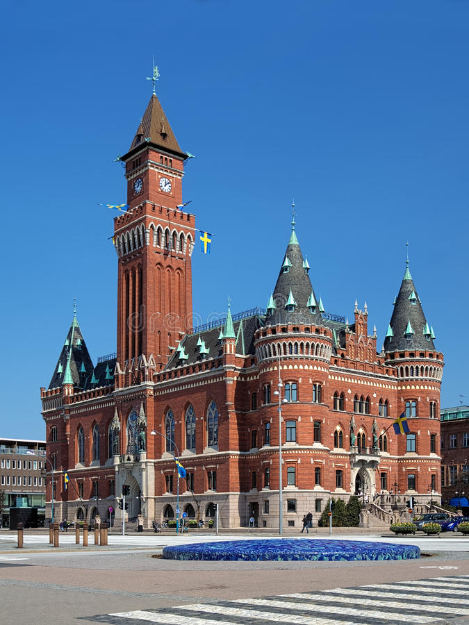 Free City Hall In Helsingborg, Sweden Royalty Free Stock Photography - 25241377