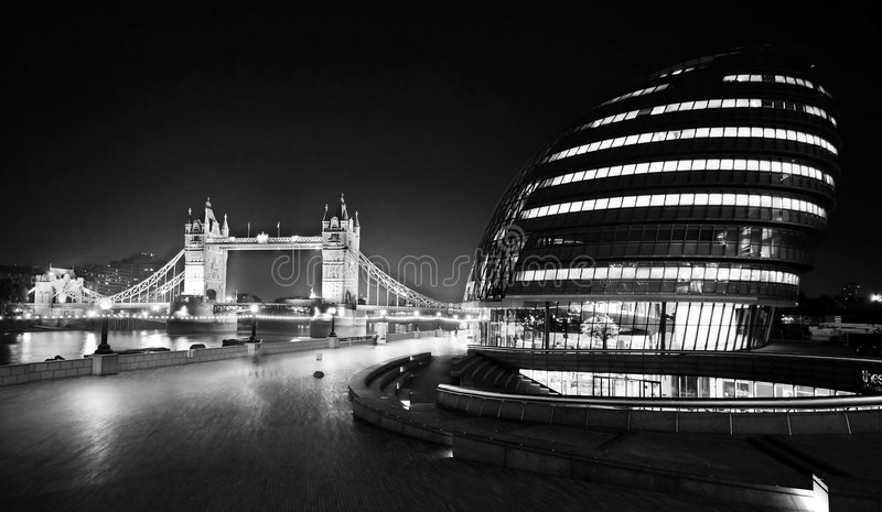 City Hall, London royalty free stock images