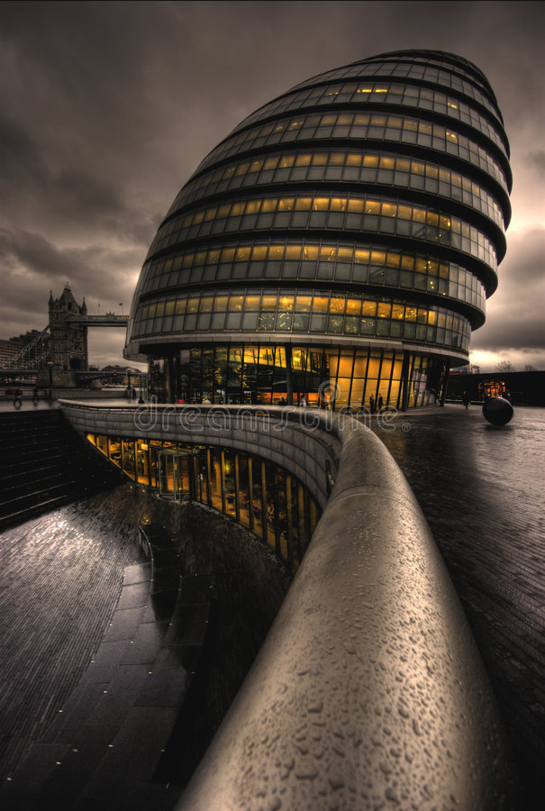 City Hall, London royalty free stock photography
