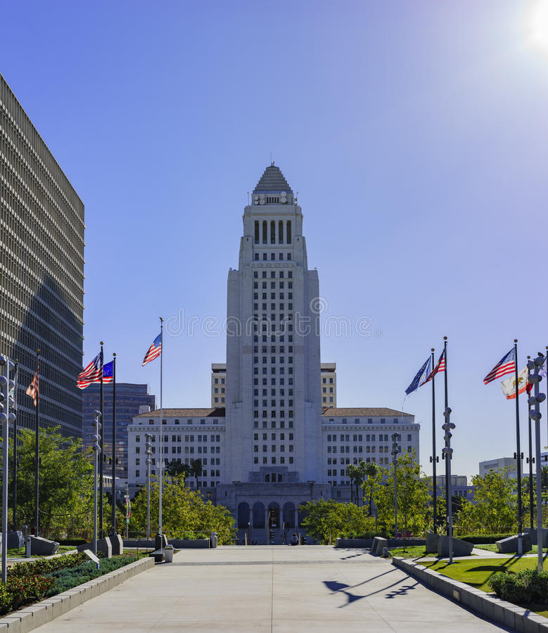 City Hall, Los Angeles stock photo