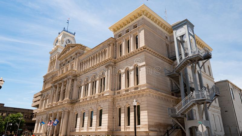 City Hall of Louisville - LOUISVILLE. USA - JUNE 14, 2019 royalty free stock image