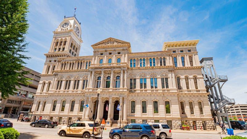 City Hall of Louisville - LOUISVILLE. USA - JUNE 14, 2019 stock photos