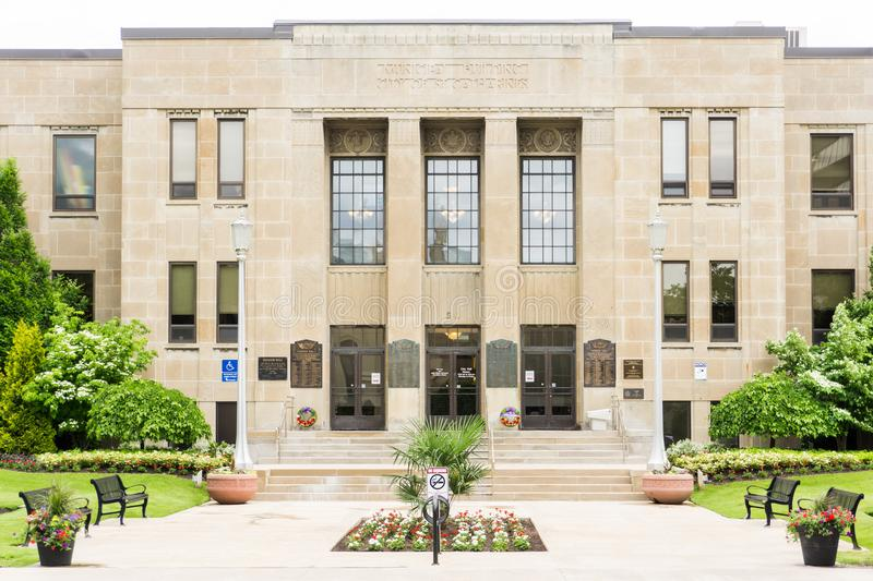 City hall of st catharines ontario canada stock images