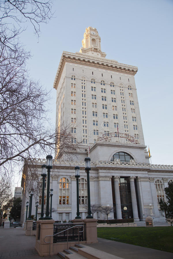 City Hall. In Oakland,California royalty free stock photography