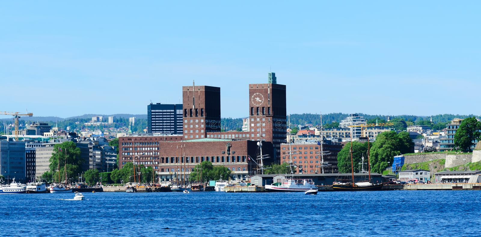 Download City hall oslo stock image. Image of norway, capitol - 26108397