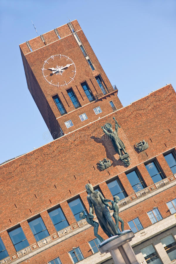 Download City Hall In Oslo Editorial Photography - Image: 28444832