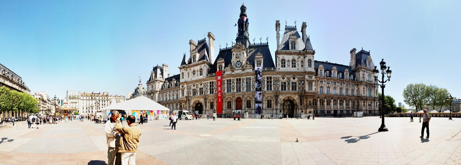 Download The city hall of Paris editorial photography. Image of culture - 27548727