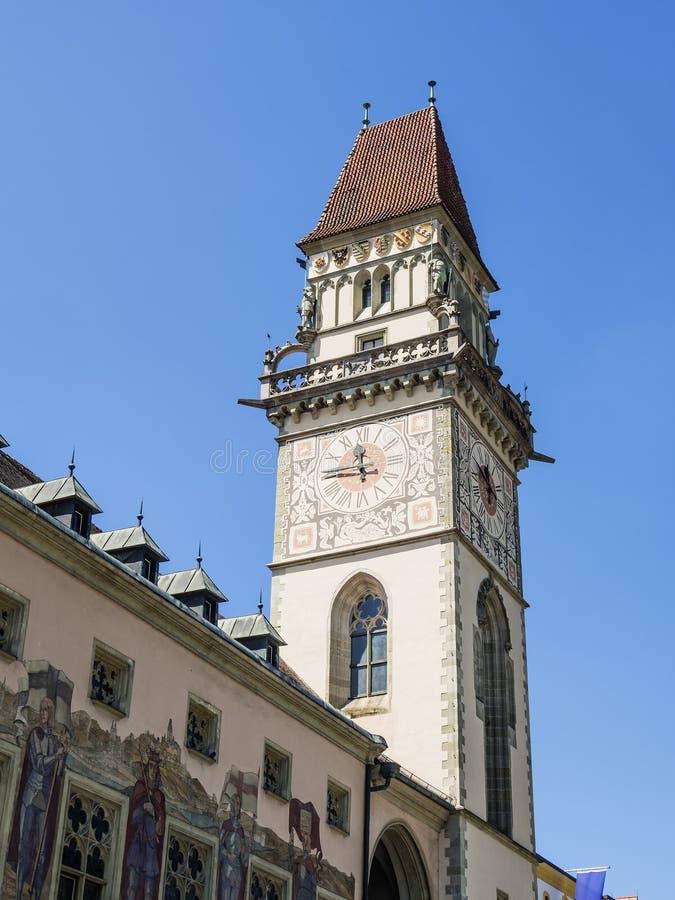 City Hall Passau stock photography