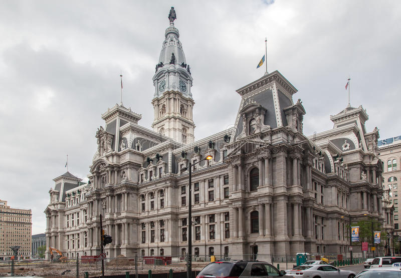 City Hall Philadelphia stock photo