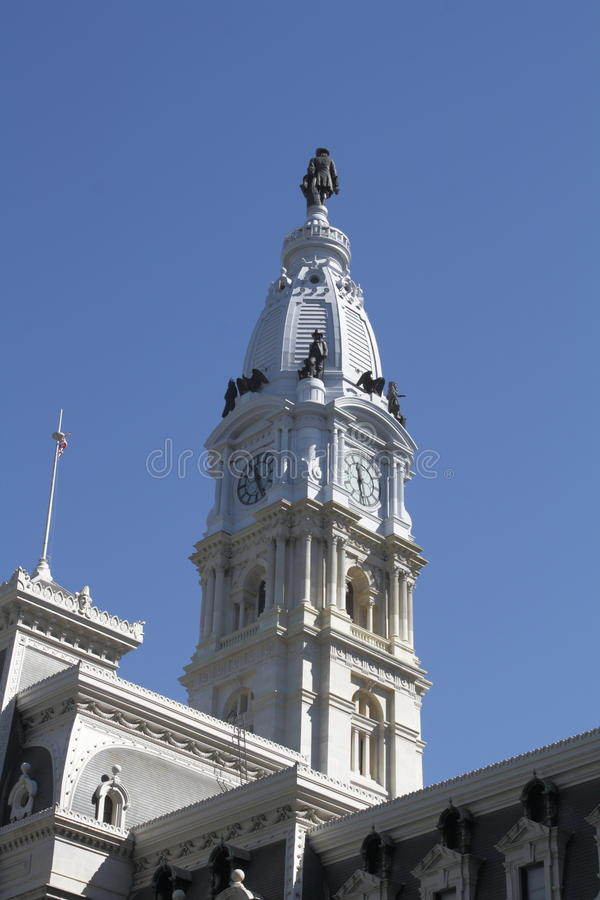 City Hall, Philadelphia, PA. City Hall, Philadelphia Pennsylvania in Center City stock image