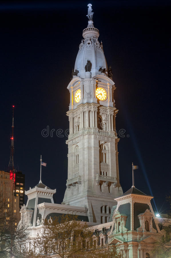 City Hall - Philadelphia, Pennsylvania stock image