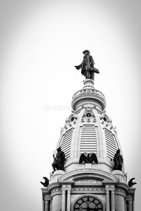 City Hall of Philadelphia royalty free stock images
