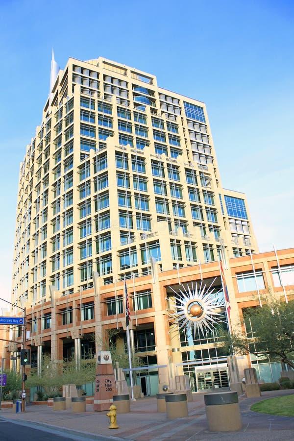 City Hall Phoenix, Arizona. City Hall in downtown Phoenix, Arizona, a city in the southwest United States royalty free stock image