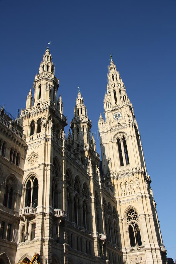 Download City Hall - Rathaus - In Vienna Stock Photo - Image: 28495132