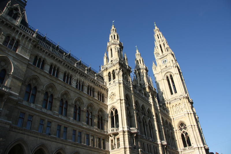 Download City Hall - Rathaus - In Vienna Stock Image - Image: 28495149