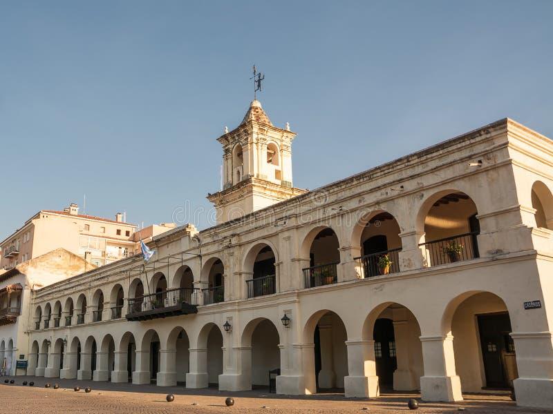 City hall of Salta in Argentina. City hall of Salta Argentina royalty free stock photo