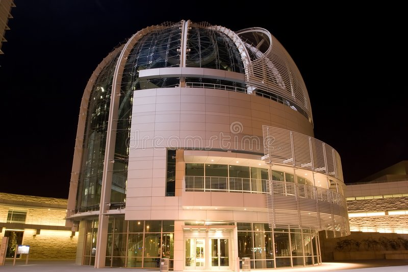 City Hall of San Jos� California. The architect was Richard Meier, designer of the Getty Center, Beverly Hills, the Barcelona Museum of Contemporary Art stock photos