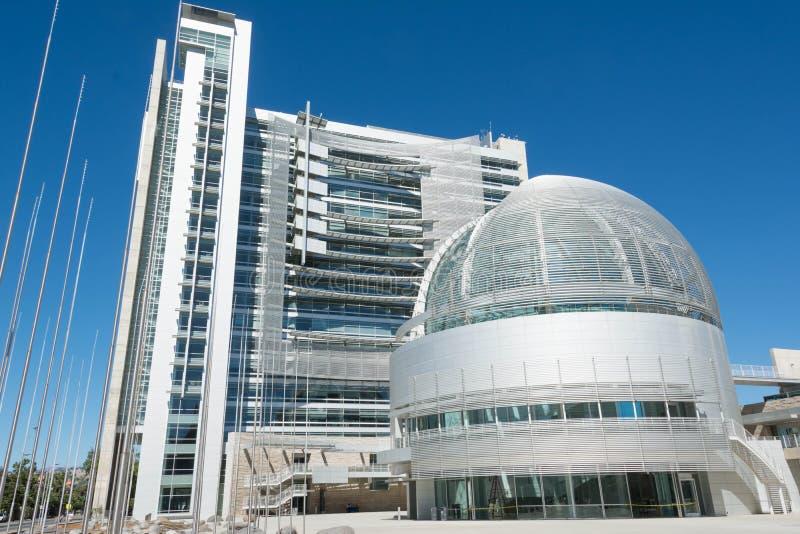 The city hall of San Jose, California stock photography