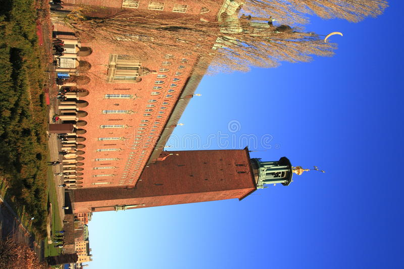 Download City Hall of Stockholm stock image. Image of gamla, bell - 33518949