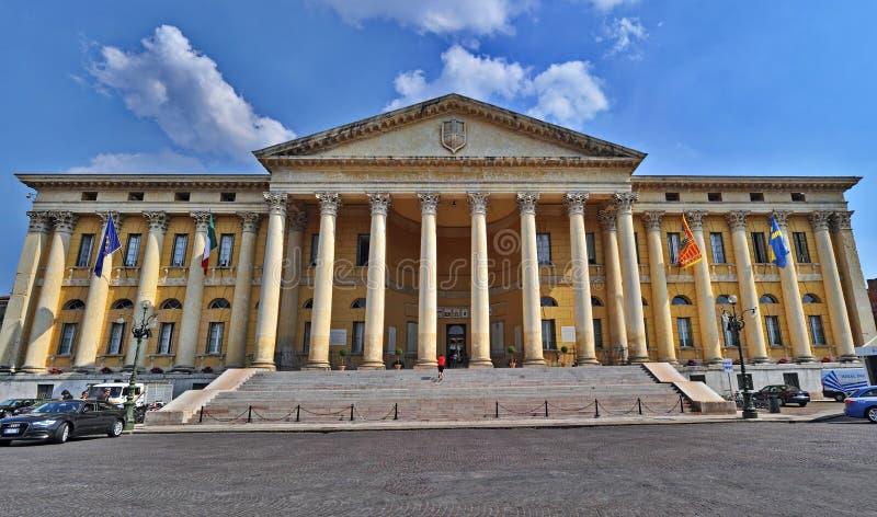City Hall of Verona stock image