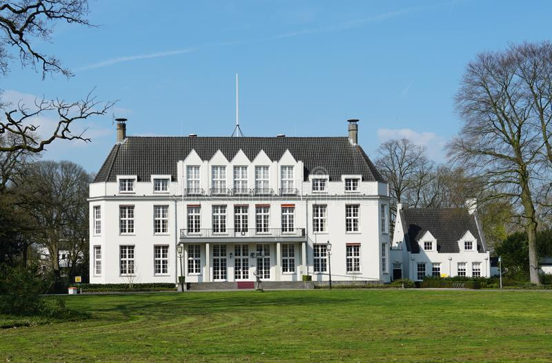 City hall of Bilthoven in the Netherlands. City hall in the village of Bilthoven and De Bilt, Utrecht province, the Netherlands royalty free stock photo