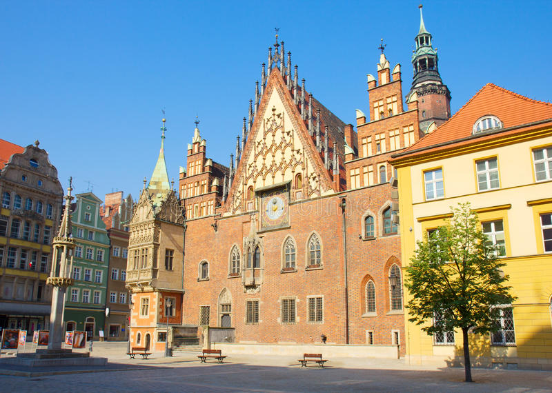 City Hall Of Wroclaw, Poland Royalty Free Stock Images