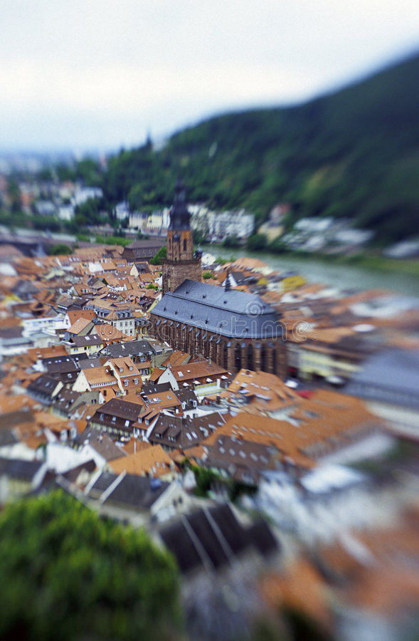 City of Heidelberg- Germany stock images