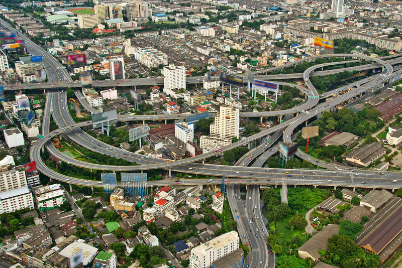 Download City Highways stock image. Image of downtown, centre, congestion - 3581373