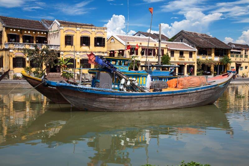 City of Hoi An. In Vietnam stock photos