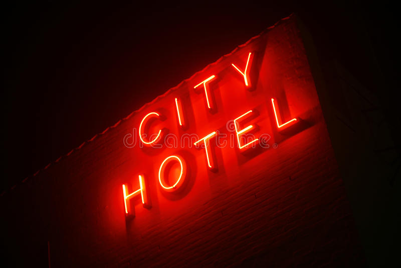 City Hotel royalty free stock photography