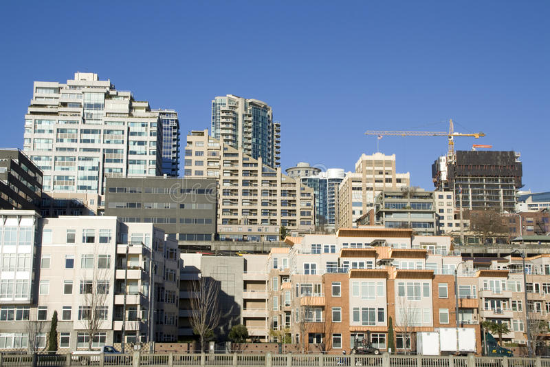 City housing living apartments stock photos