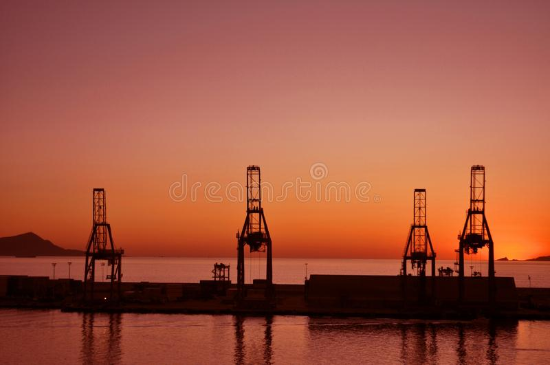 City of Industry Towers at Sunset