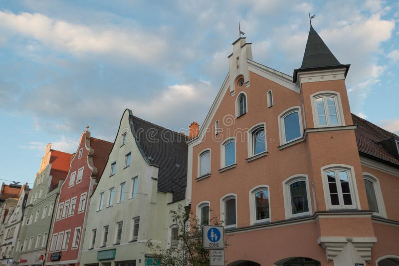 The city of ingolstadt in germany. The bavarian City of Ingolstadt in germany royalty free stock photo