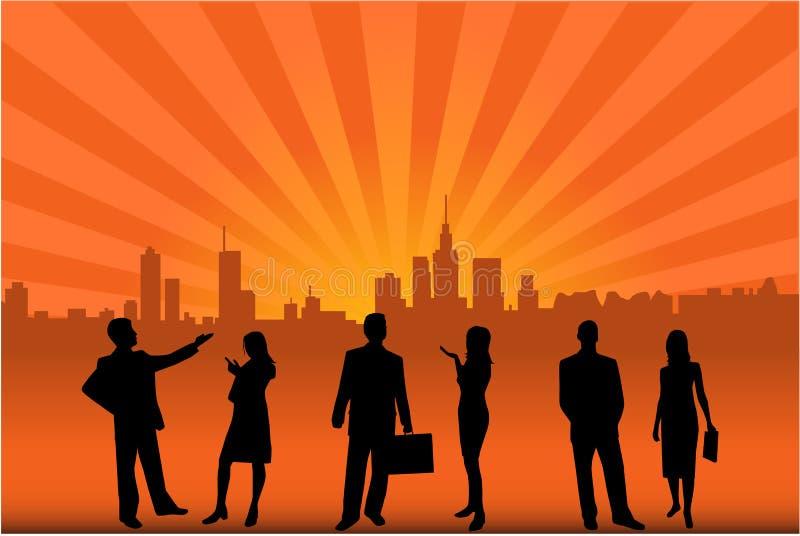Download City interests stock vector. Image of folder, businessman - 2818919