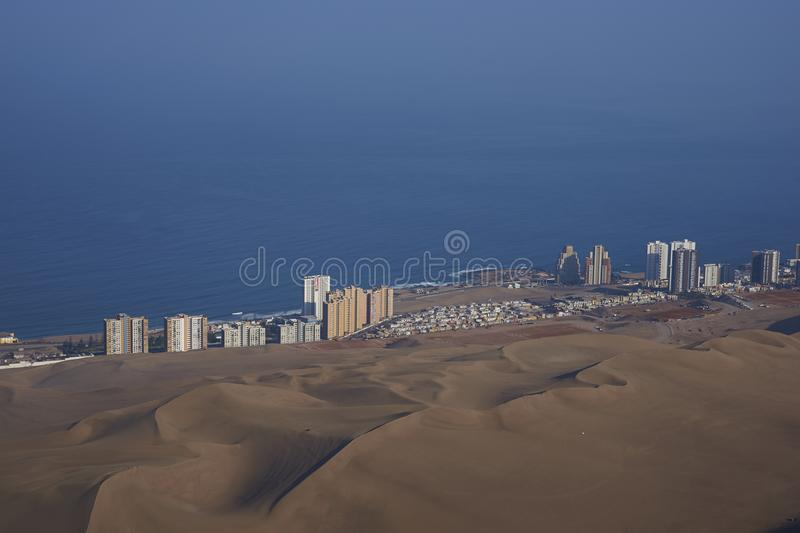 City of Iquique royalty free stock image