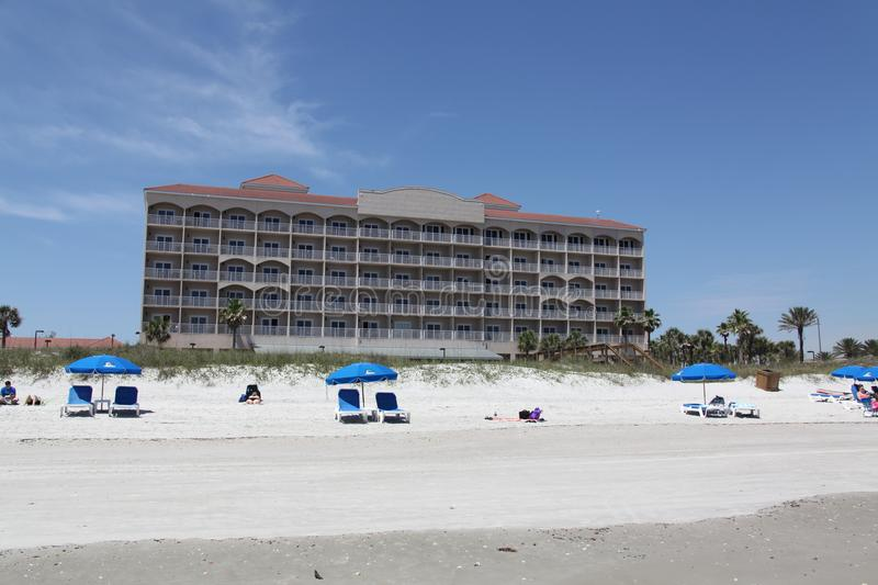 City of jacksonville beach in florida royalty free stock photo