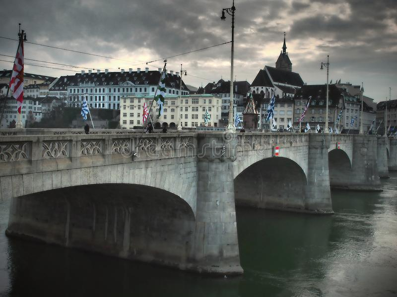 Basel - Switzerland 2019. The city is known for its many internationally renowned museums, ranging from the Kunstmuseum, the first collection of art accessible stock photography
