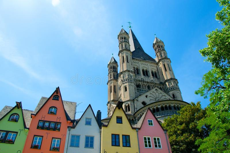 City of Koln royalty free stock images