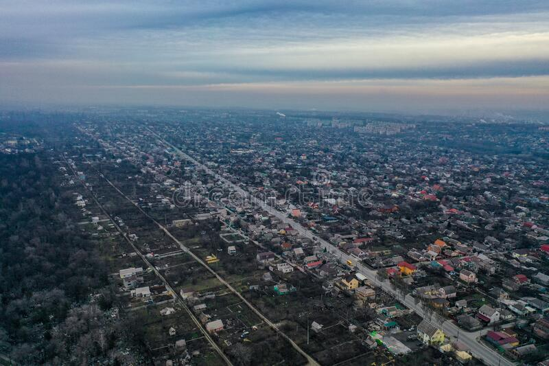 City landscape and amazing skyline. royalty free stock photography