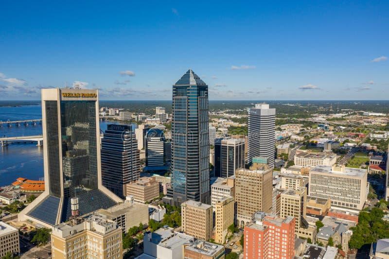 City landscape Jacksonville FL USA stock photo